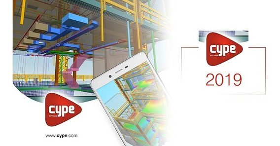 Cype 2019 - Cypecad, Metalicas 3d, Pro + Brinde