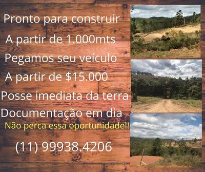 Terrenos De 1000m² Por Apenas R$ 20.000! Gl
