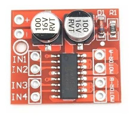 Pwm Speed Dual H Bridge Stepper Motor L298n Arduino 2 Dc Esc Ponte H