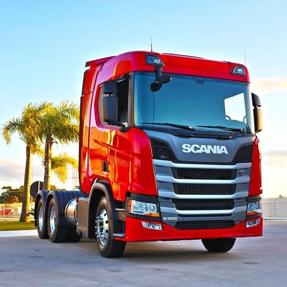 Scania R500 6x2 Ou 6x4 Top De Linha Completa 2019/19 0km