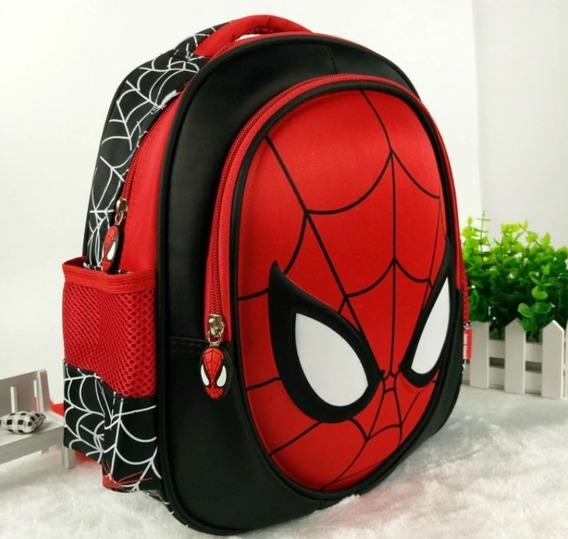 Mochila 3d Infantil Do Homem Aranha (spider-man)