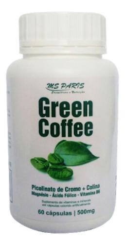Café Verde Cápsulas Suplemento Termogenico Emagrecimento