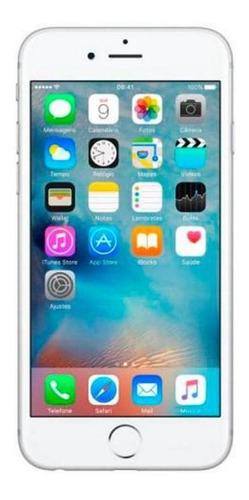 Imagem 1 de 4 de iPhone 6 Plus 16gb Celular Usado Seminovo Prateado Mt Bom