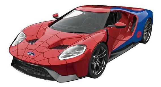 Ford Gt 2017 + Figura Spider Man - Jada 1:24