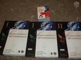 Kit Enfermagem - Livros Didáticos Capa Dura
