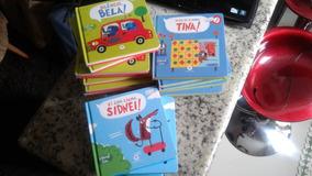 Lote 21 Livros Infantis David Sim Bela Tina Sidnei