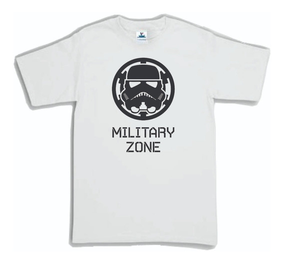 Playera Star Wars Clone Trooper Military Zone 1 Hombre Mujer