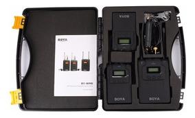 Boya Microfone S Fio Lapela By-wm8 K-2canon Nikon Lançamento