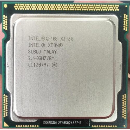 Procesador Intel Xeon X3430 Caché De 8m, 2,40 Ghz 1156