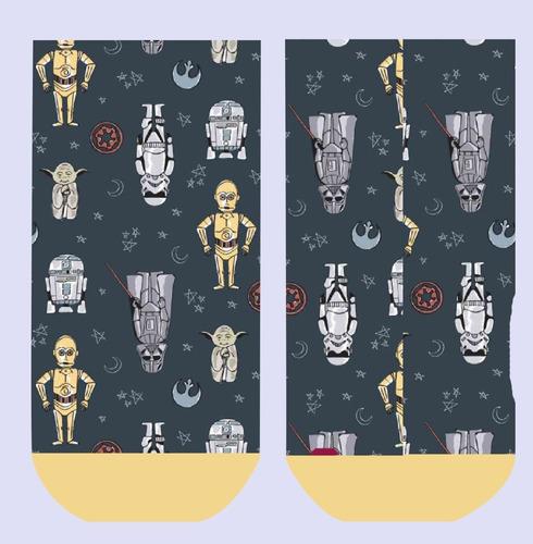 Imagen 1 de 10 de Calcetines Personalizados Divertidos Starwars