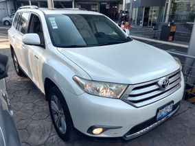 Toyota Highlander Limited Aa Qc Piel R-19 4x4 At 2013