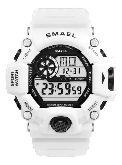 Relógio Smael 1385b Resistente A Água