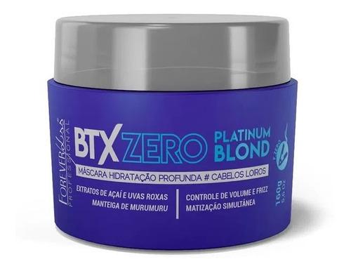 Botox Zero Platinum Blond Cabelo Loiro Liso Forever Liss
