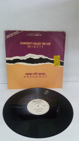 Lp Curiosity Killed The Cat/ Swing Out Sister/disco Mix/1987