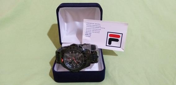 Relogio Fila Fa 0794 - 61 Mastertime Chronograph