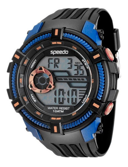 Relógio Speedo Masculino 80591g0evnp3 Digital