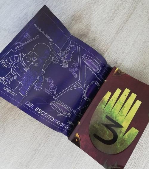 Gravity Falls Diario 3 + Mapa Libro Nuevo Y Sellado