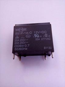 Rele 891p-1a-c 12v =dc 20a 2 Pçs