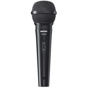 Microfone Shure Sv200 Com Cabo Xlr/xlr