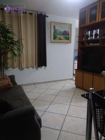 Apartamento À Venda, 56 M² Por R$ 195.000,00 - Jardim Alvorada - Santo André/sp - Ap0874