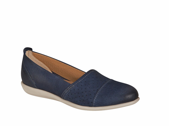 Flat Color Azul Para Mujer