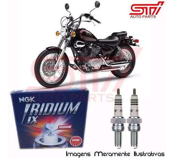 Jogo Vela Ngk Iridium Cr6hix Yamaha Xv 250s Virago 1990-2007