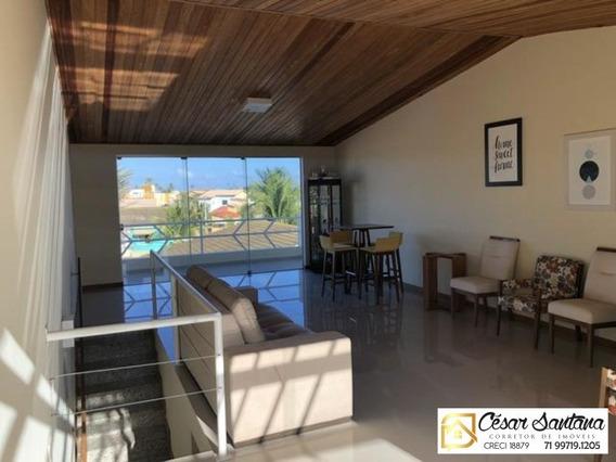 Casa Triplex Praia De Ipitanga - Lauro De Freitas - Semi-mobiliada - Ca00522 - 34342583