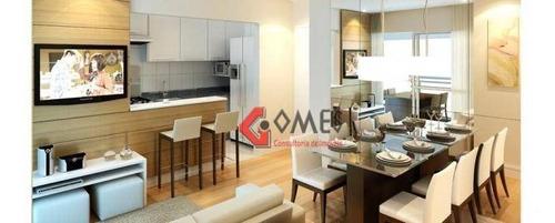 Apartamento Com 1 Dormitório À Venda, 52 M² Por R$ 364.000 - Jardim Hollywood - São Bernardo Do Campo/sp - Ap3019