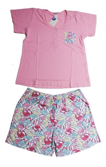 Pijama De Verano Mujer Talles Super Grandes Art 555