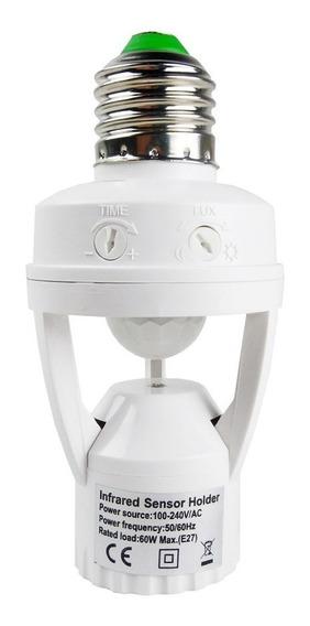 Sensor Presença Fotocélula Para Lâmpada Timer Soquete E27