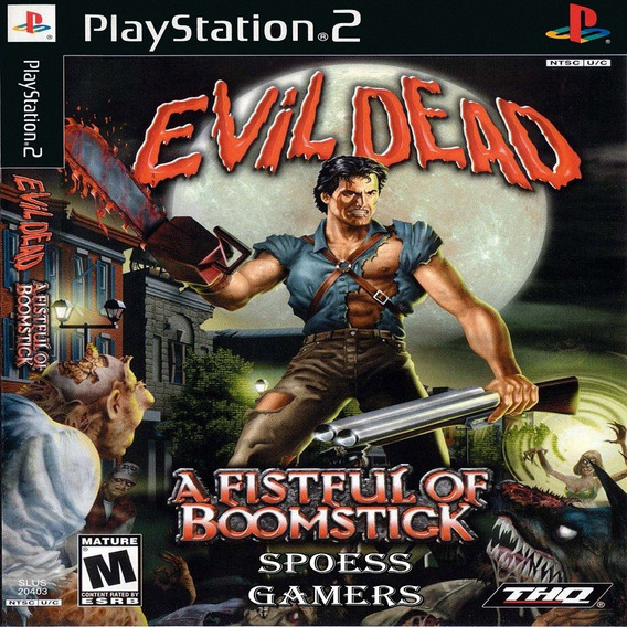 Evil Dead Ps2 A Fistful Of Boomstick Patch Terror