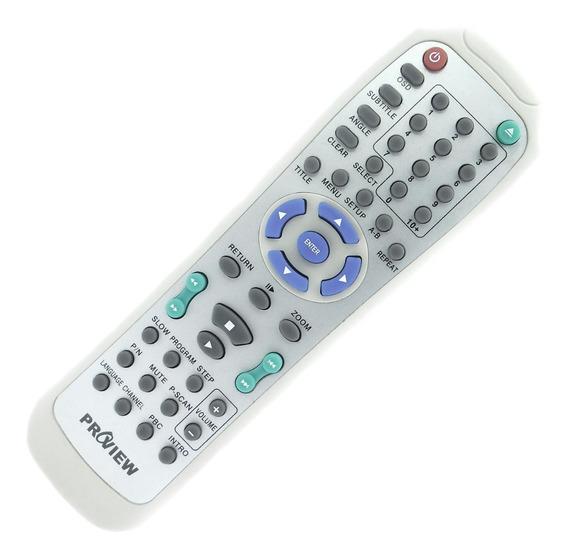 Controle Remoto Dvd Proview Dv-868 Original