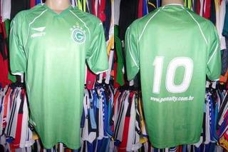 Goiás 2002 Camisa Titular Tamanho G Número 10.