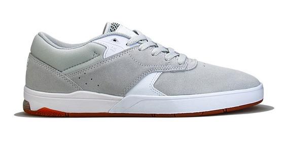 Tênis Dc Shoes Tiago Lemos S Grey/white Original Importado
