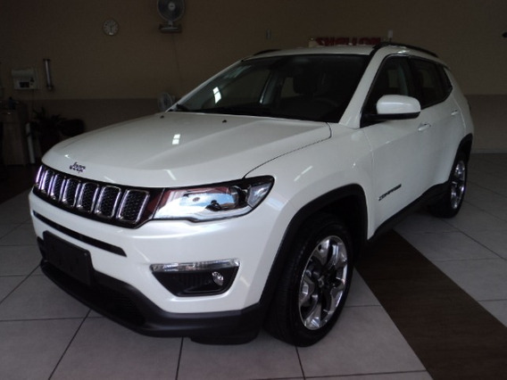 Jeep Compass 2.0 Longitude Flex Aut. 5p 2018/2019 Branco