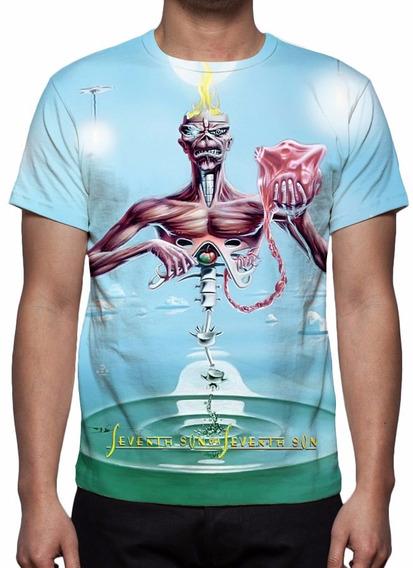 Camisa, Camiseta Iron Maiden - Seventh Son Of A Seventh Son