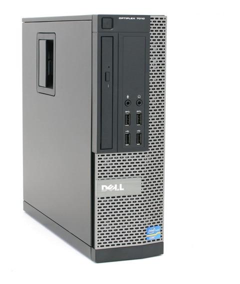 Cpu Pc Desktop Dell Core I3 2120 3.30ghz 4gb Ssd 120gb Dvd