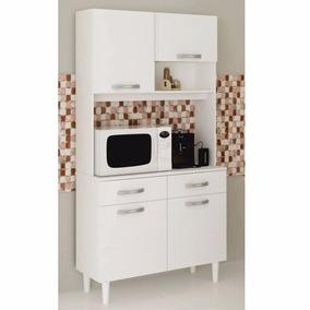 Kit Cozinha Multivisão Eliana/michelle - 4 Portas 2 Gavetas