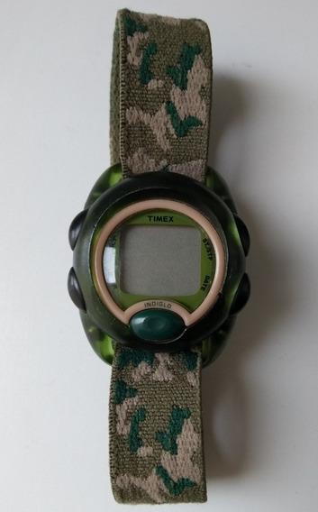 Relógio Infantil Meninos Timex Kids Digital T71912 Verde