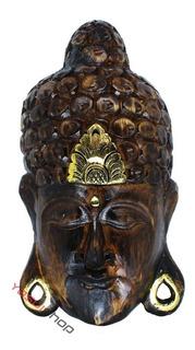 Mascara Estatueta Buda Enfeite Para Jardim Jardins Quintal