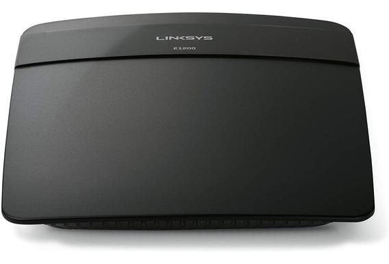 Roteador Wireless Linksys E1200-br 300mbps 4portas