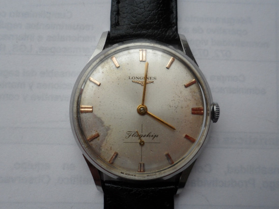 Longines Calibre 30l Modelo Flagship De Cuerda Manual