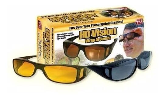 Gafas De Sol Y Noche Lentes Hd Mejora Vision 2 Unidades