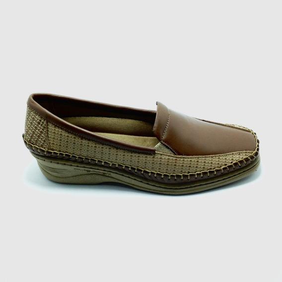 Sapato Feminino Couro Legitimo Confortavel Sucesso 5180