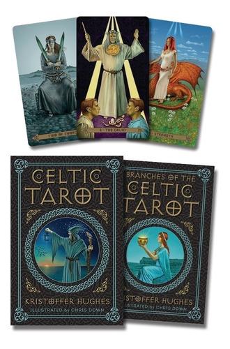 Celtic Tarot, Tarot Celta,  Libro Y Cartas Están En Ingles