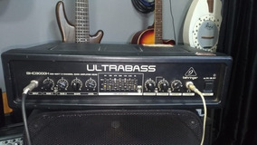 Cabeçote De Baixo - Ultrabass Bxd3000h Behringer