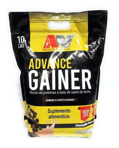 Proteina Ganador Advance Nutrition Gainer 10 Lb Sabores Full
