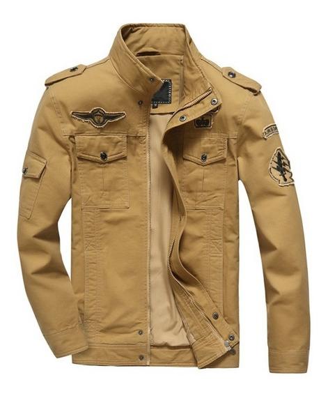 Pronto Entrega Jaqueta Masculina Estilo Militar