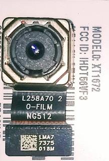 Camera Trazeira Moto G 5 Xt 1672 Original .