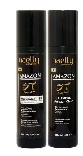 Imagem 1 de 5 de Naelly St Premium Definitiva P2 - 500ml + Brinde!